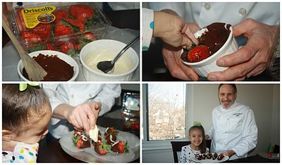 It's Snack Time – Chocolate Covered Strawberries