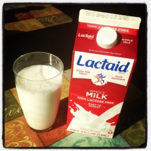LACTAID for Lactose Intolerance Giveaway and Lactose-Free Blueberry Muffins