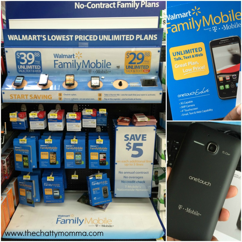 The Chatty Momma Walmart Family Plan Evolve