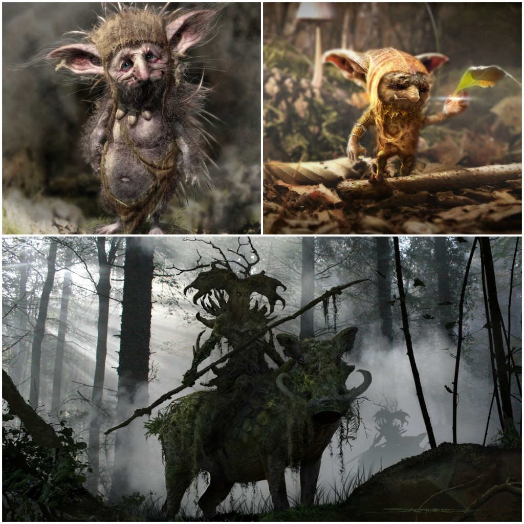 The Chatty Momma Maleficent Forest Characters