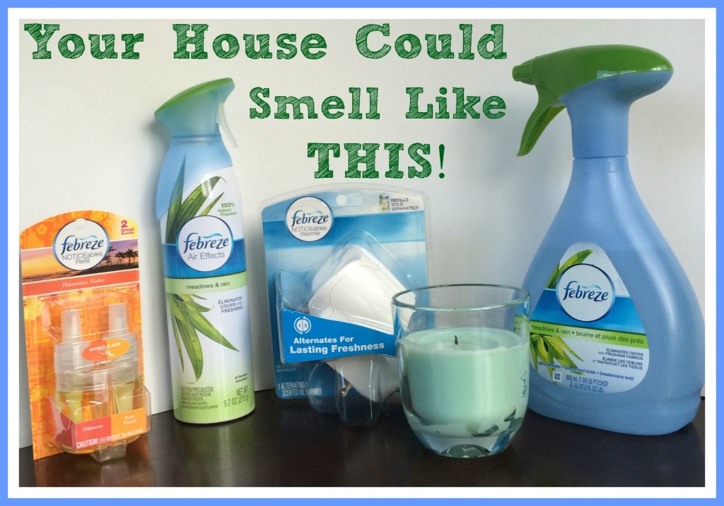 The Chatty Momma Febreze Set GIVEAWAY
