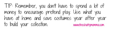 The Chatty Momma Great Pretenders Pretend Play Costume Tip