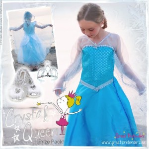 """Back to Pre-School""  Benefits of Pretend Play – Crystal Queen (Elsa Inspired) Costume Giveaway"