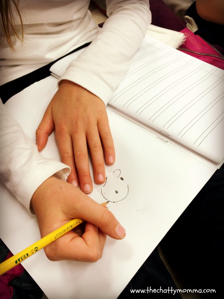Jeff Kinney teaches students how to draw Wimpy Kid character Greg