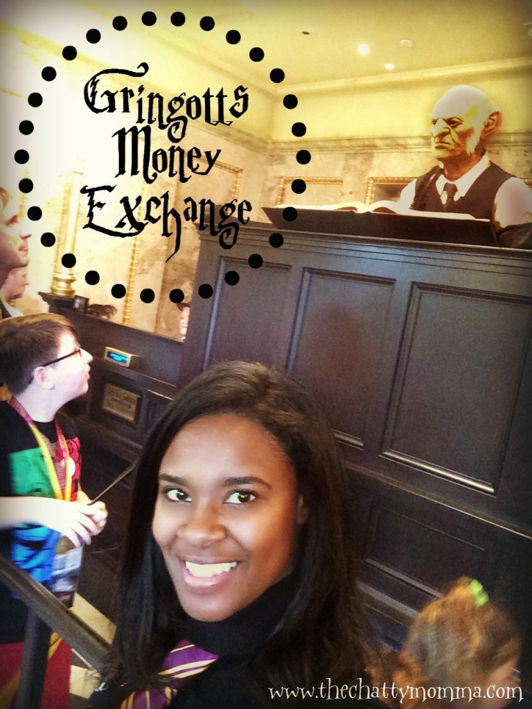 The Chatty Momma Harry Potter Celebration Universal Orlando Gringotts #HPCelebration