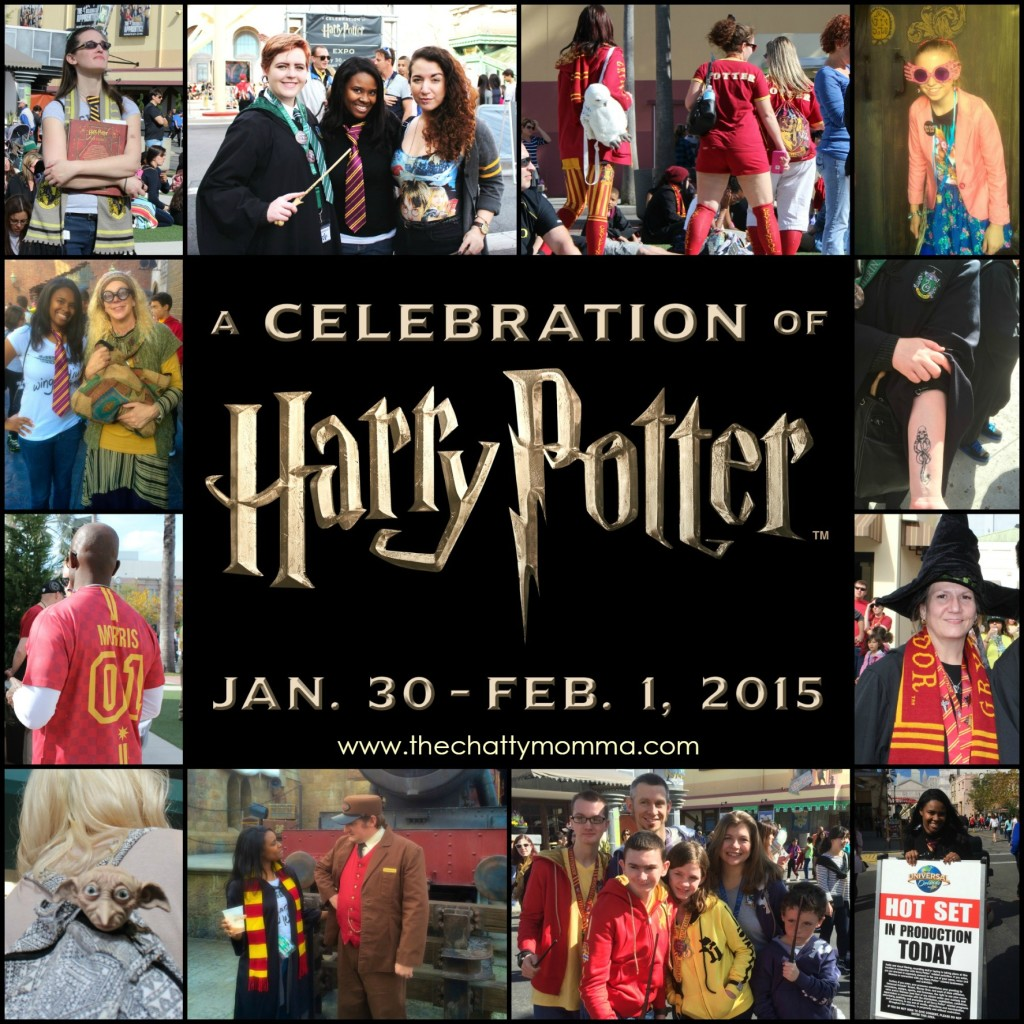 The Chatty Momma Harry Potter Celebration Universal Orlando #HPCelebration