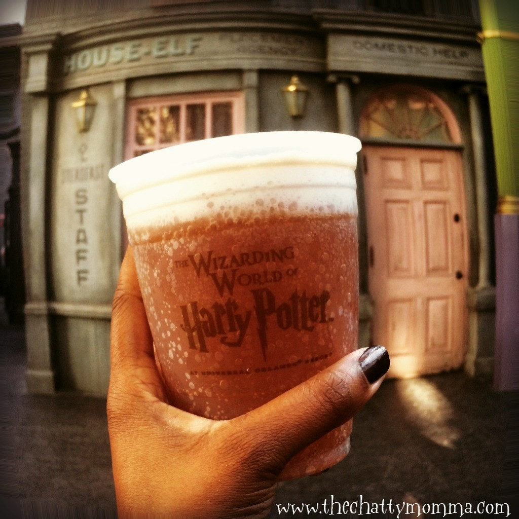 The Chatty Momma Harry Potter Celebration Universal Orlando Butterbeer