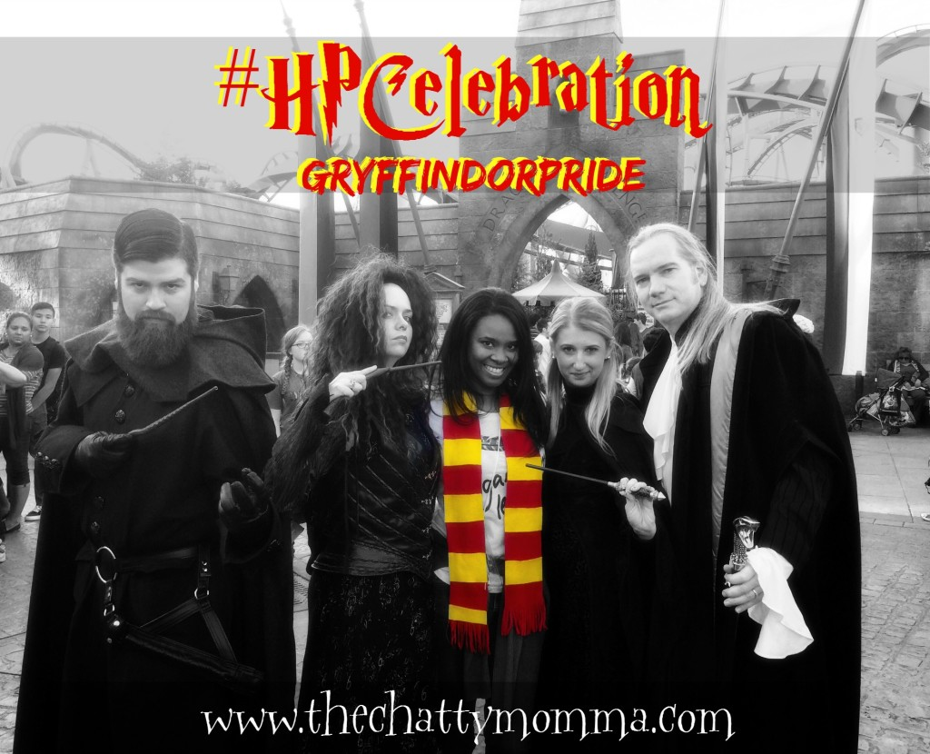 The Chatty Momma Harry Potter Celebration Universal Orlando Death Eaters #HPCelebration