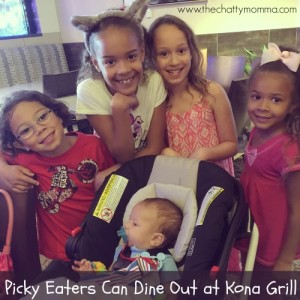 Picky Eaters Can Dine Out at Kona Grill