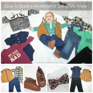 How to Build a Versatile Fall Baby Wardrobe with 9 Items from Carter's