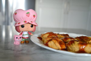 Apple Scone Recipe and Funko Pop! Strawberry Shortcake Giveaway