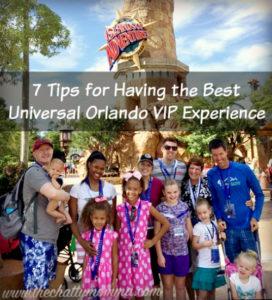 8 Tips for Having the Best Universal Orlando VIP Experience #FamilyForward #UniversalMoments