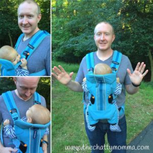 Family Travel with the Baby Bjorn Baby Carrier One Outdoors