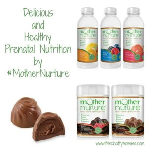 Mother Nurture Truffles and Enhanced Waters – Delicious and Healthy Prenatal Nutrition by #MotherNurture