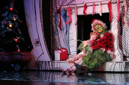 Santa for a Day: Dr. Seuss' How the Grinch Stole Christmas! The Musical 2014 tour company, playing National Theatre December 13 - 31, 2016