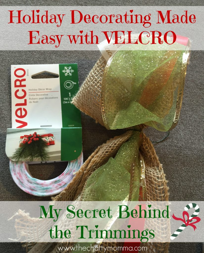 Holiday Decorating Made Easy with VELCRO Brand- My Secret Behind the Trimmings