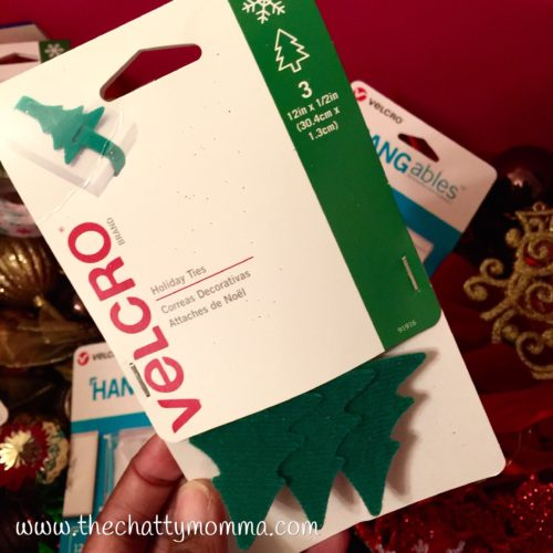 The Chatty Momma Holiday Decorating with Velcro Holiday Ties