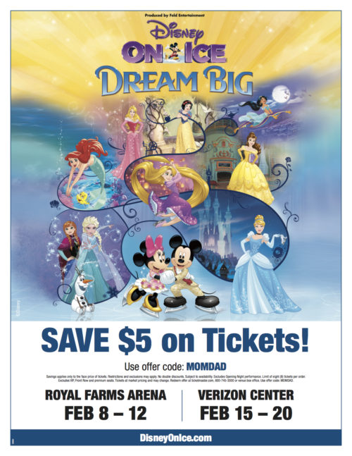 Verizon Disney on Ice Dream Big Ticket Discount