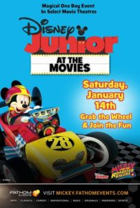 """Disney Junior at the Movies – Mickey's BIG Celebration"" Movie Theater #Giveaway"