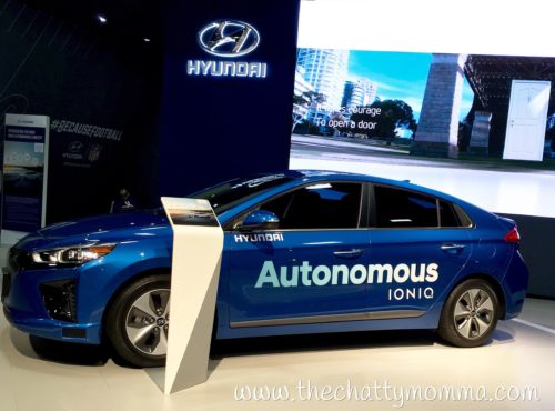 The Chatty Momma Hyundai Autonomous IONIQ