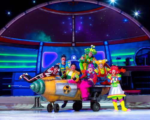 The Chatty Momma Ringling Bros. Presents Out of this World Clowns
