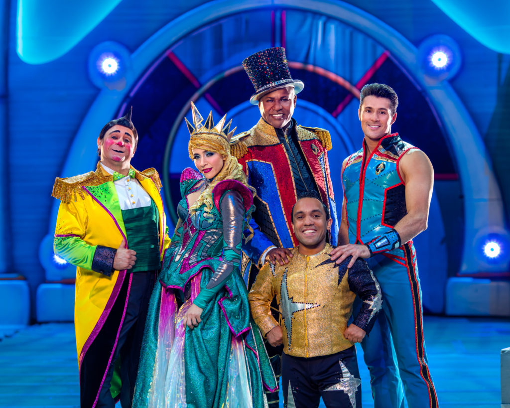 Ringling Bros. Presents Out Of This World and It's Their Final Tour