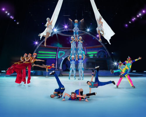 The Chatty Momma Ringling Bros. Presents Out of this World Thrill Skating