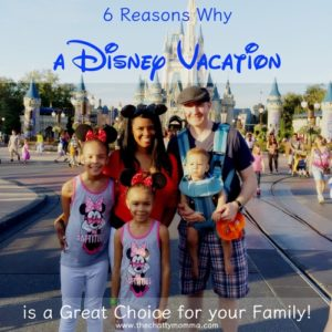 6 Reasons Why a Disney Vacation is a Great Choice for your Family