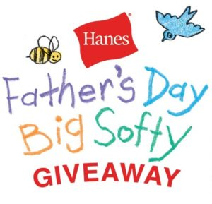 Hanes Father's Day $50 Visa Card, T-Shirt & Socks GIVEAWAY