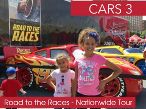 "We Raced to Disney·Pixar's ""Cars 3"" Road to the Races Tour and You Can Too"