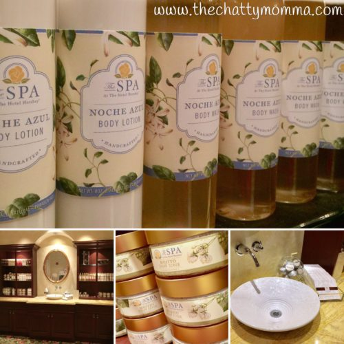 The Chatty Momma The Spa at The Hotel Hershey Spa Products