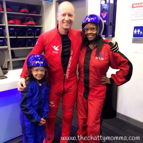 The Chatty Momma iFly Indoor Skydiving Tonia Gabriella and Flight Instructor