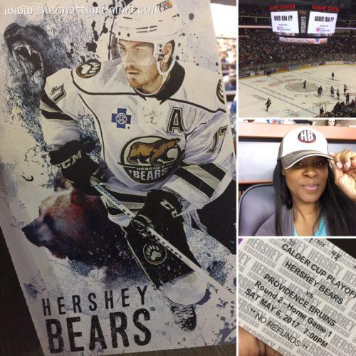 The Chatty Momma Hersheypark Vacation Planning Hershey Bears Hockey Game