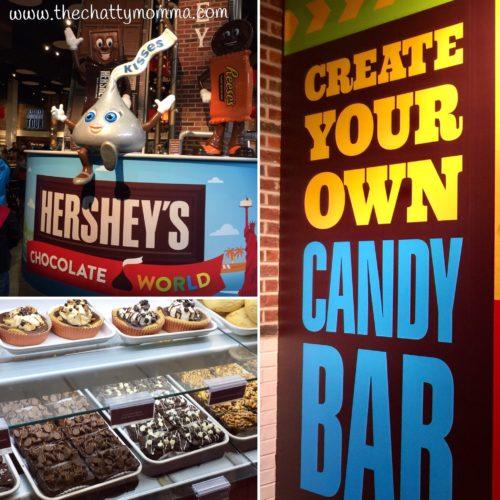 The Chatty Momma Hersheypark Vacation Planning Hershey's Chocolate World