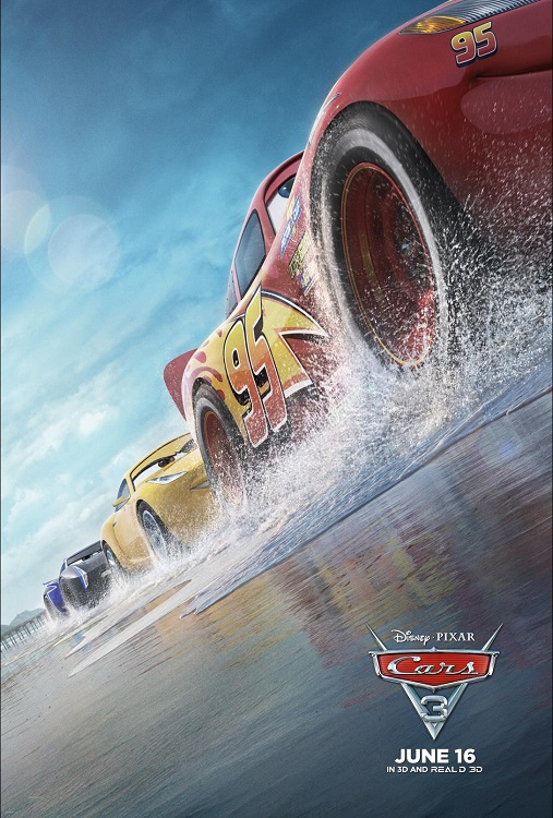 See It First: Cars 3 Movie Family 4 Pack Ticket Giveaway
