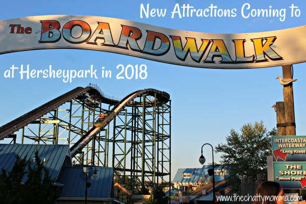 The Chatty Momma Hersheypark 2018 Announcement Boardwalk Coaster
