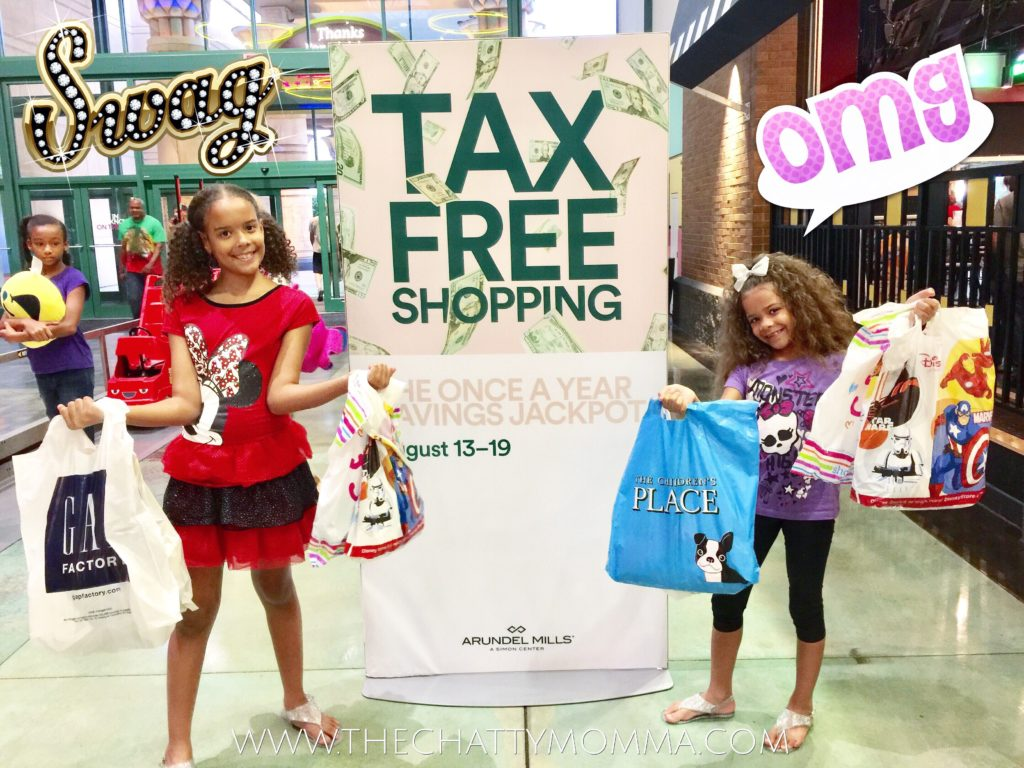 Tips for Back-to-School Shopping at Arundel Mills During Maryland's Tax Free Week and $100 Gift Card Giveaway