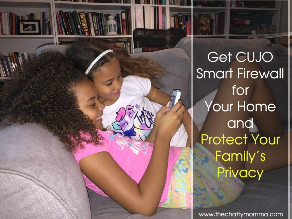 Get CUJO Smart Firewall for Your Home and Protect Your Family's Privacy