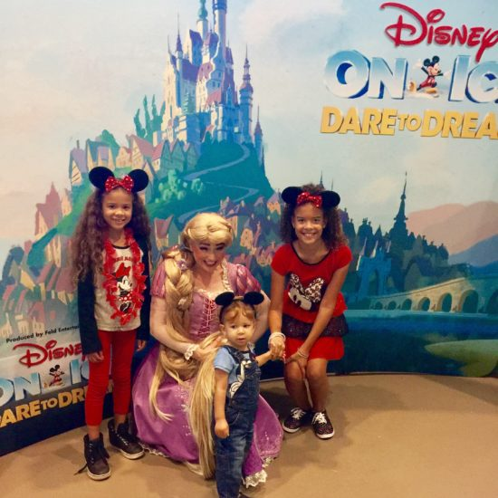 The Chatty Momma Disney on Ice Presents Dare to Dream - Meeting Rapunzel