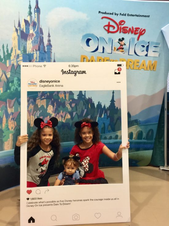 The Chatty Momma Disney on Ice Presents Dare to Dream - Media Party Instagram Frame