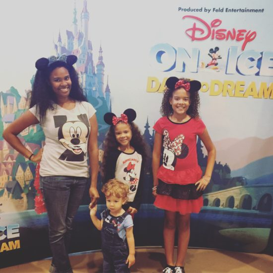 The Chatty Momma Disney on Ice Presents Dare to Dream - my kids