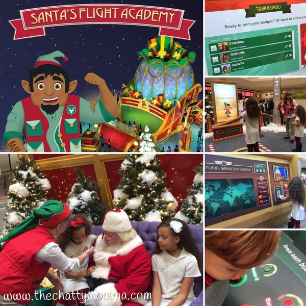 The Chatty Momma Santa's Flight Academy Process
