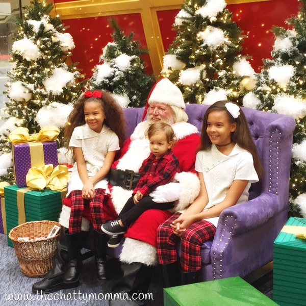 The Chatty Momma Santa's Flight Academy Santa Photo