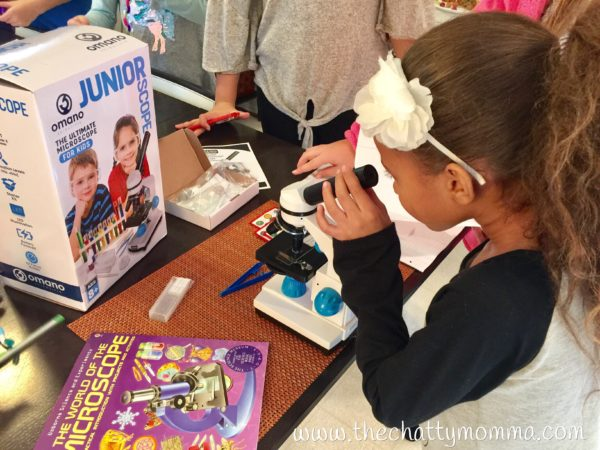 The Chatty Momma Omano JuniorScope STEM gift Gabriella