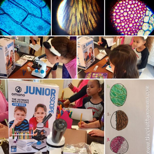 The Chatty Momma Omano JuniorScope STEM gift slide observations