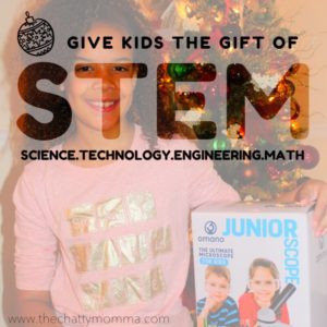Give Kids the Gift of STEM this Holiday with an Omano JuniorScope Microscope