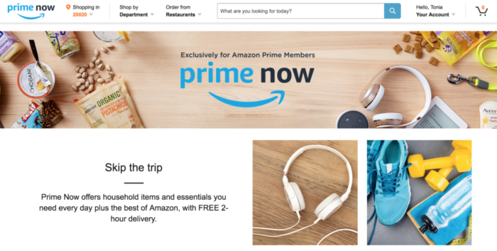The Chatty Momma Amazon Prime Now Screenshot