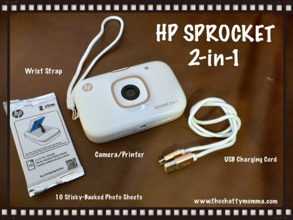 The Chatty Momma Holiday Gifts for Moms - HP Sprocket 2-in-1 at Best Buy