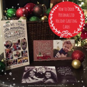 How to Order Personalized Holiday Greeting Cards #LoveHallmark