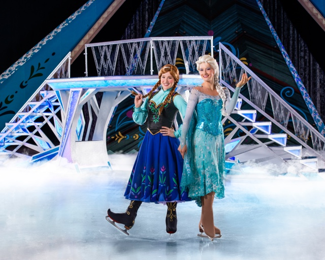 The Chatty Momma Disney on Ice Presents Frozen - Anna and Elsa